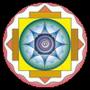 Healing arts loga in circle